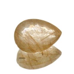 21.71ct. Rutile Quartz Pear...