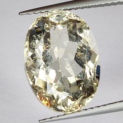 8.49ct Champagne Topaz oval...