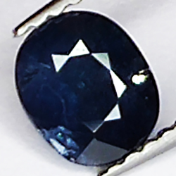 0.92ct Blue Sapphire oval...