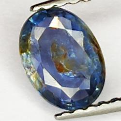 0.80ct Blue Sapphire oval...