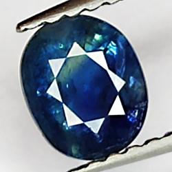 0.75ct Blue Sapphire oval...