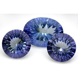 3 Mystic Blue Quartz -...