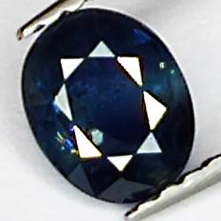 0.78ct Blue Sapphire oval...