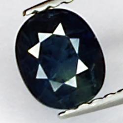 0.95ct Blue Sapphire oval...