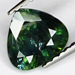1.08ct Green Sapphire pear...