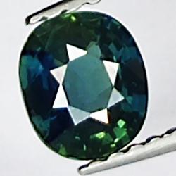 0.74ct Blue Sapphire oval...