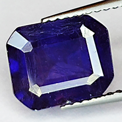 3.63ct Blue Sapphire...
