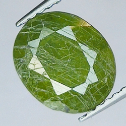 6.29ct Green Sapphire oval...