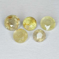 2.31ct Yellow Sapphire...