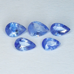 1.58ct Blue Sapphire pear...