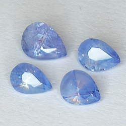 1.79ct Blue Sapphire pear...