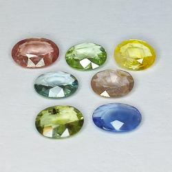 3.88ct Sapphire Multicolor...
