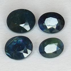 2.35ct Blue Sapphire oval...