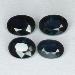 2.40ct Blue Sapphire oval...