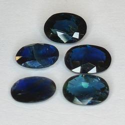 4.52ct Blue Sapphire oval...