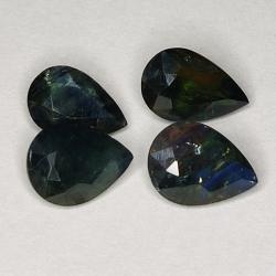 4.25ct Blue Sapphire pear...