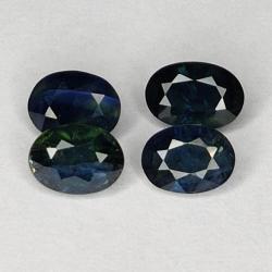 2.06ct Blue Sapphire oval...