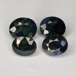 4.60ct Blue Sapphire oval...