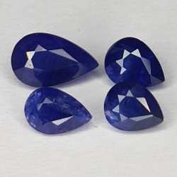 1.91ct Blue Sapphire pear...