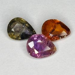 2.04ct Sapphire Multicolor...