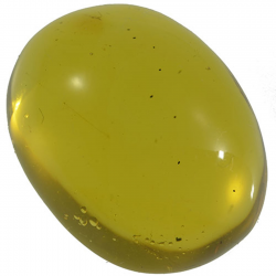 13.73ct Amber cabochon oval...