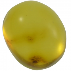 2.25ct Amber cabochon oval...