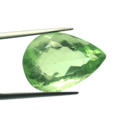 21,05 ct. Fluorite Pear Shape