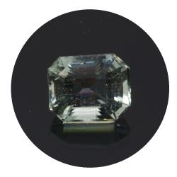 1,78 ct. Aquamarine Emerald...