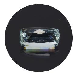 1,81 ct. Aquamarine Cushion...