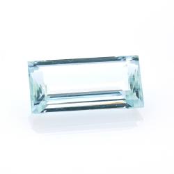 7,66 ct. Aquamarine Emerald...