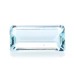 8,17 ct. Aquamarine Emerald...