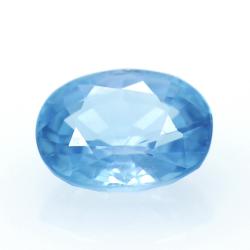 2,06 ct Blue Zircon