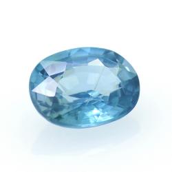 1,88 ct Blue Zircon
