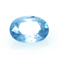 1,68 ct Blue Zircon