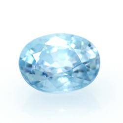 1,99 ct Blue Zircon