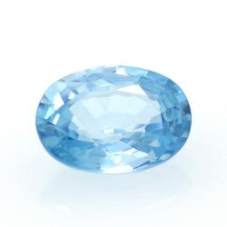 1,76 ct Blue Zircon