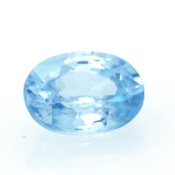 1,92 ct Blue Zircon
