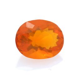 1,08 ct. Fire Opal Oval Cut