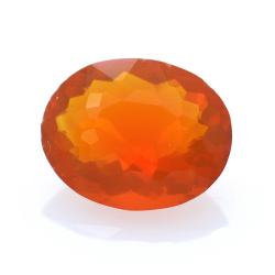 1,30 ct. Fire Opal  Oval Cut