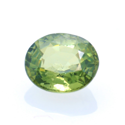 0,69ct Demantoid Oval Cut