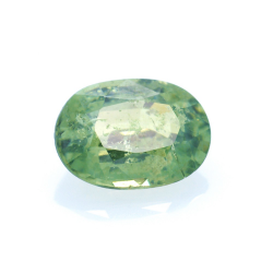 0,95ct Demantoid Oval Cut