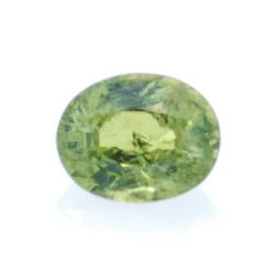 0,66ct Demantoid Oval Cut