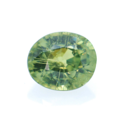 0,56ct Demantoid Oval Cut