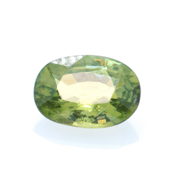 0,82ct Demantoid Oval Cut