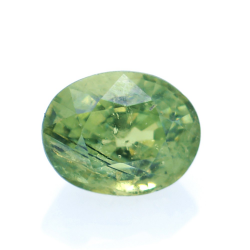 0,83ct Demantoid Oval Cut