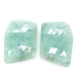 43,15 ct. Emerald Cabochon Cut