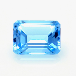 13,89 ct Blue Topaz Emerald...