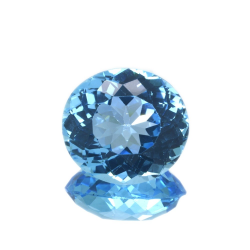 19,34 ct Blue Topaz Oval Cut