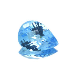 23,96 ct Blue Topaz Pear...