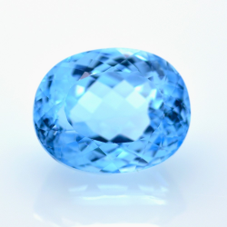 32,34 ct Swiss Blue Topaz...